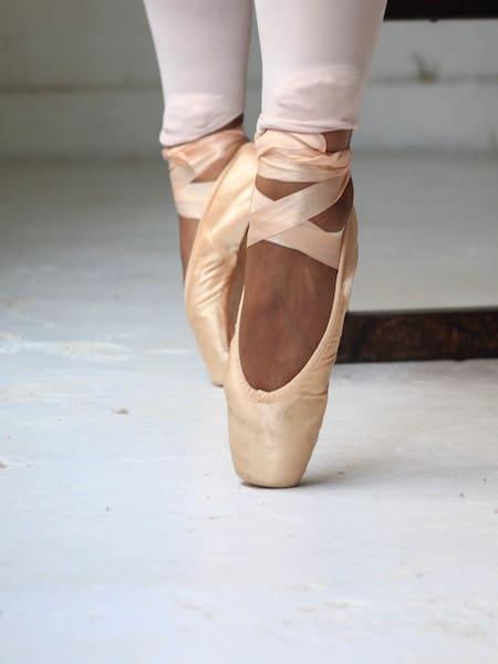 Zapatilla puntas