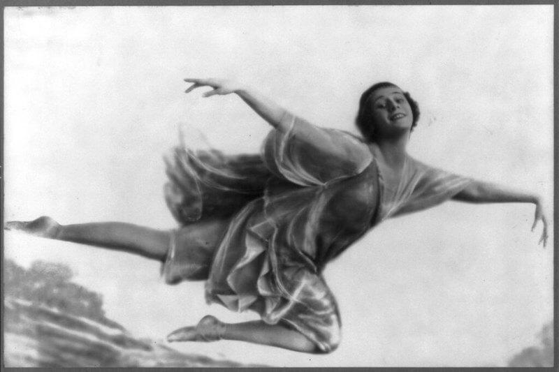 Anna Pavlova bailarina de ballet famosa