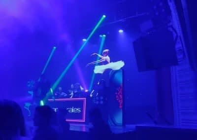 Ballet en discoteca