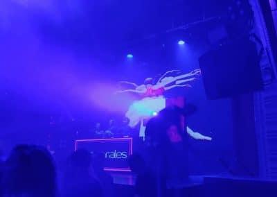 Ballet en la discoteca