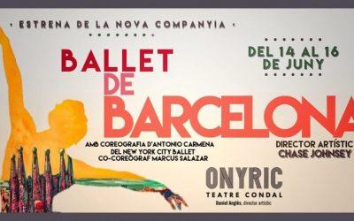 Actuaciones Ballet de Barcelona junio 2019