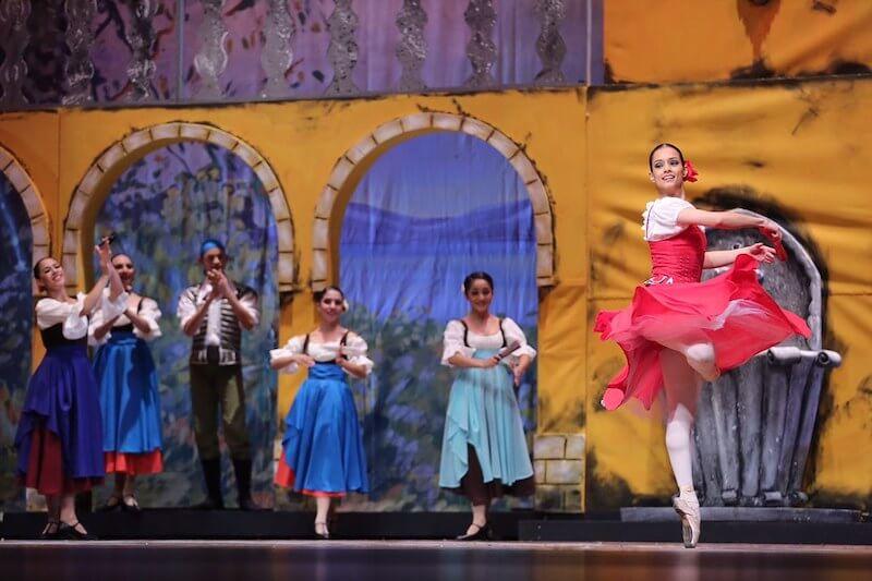 argumento ballet de don quijote