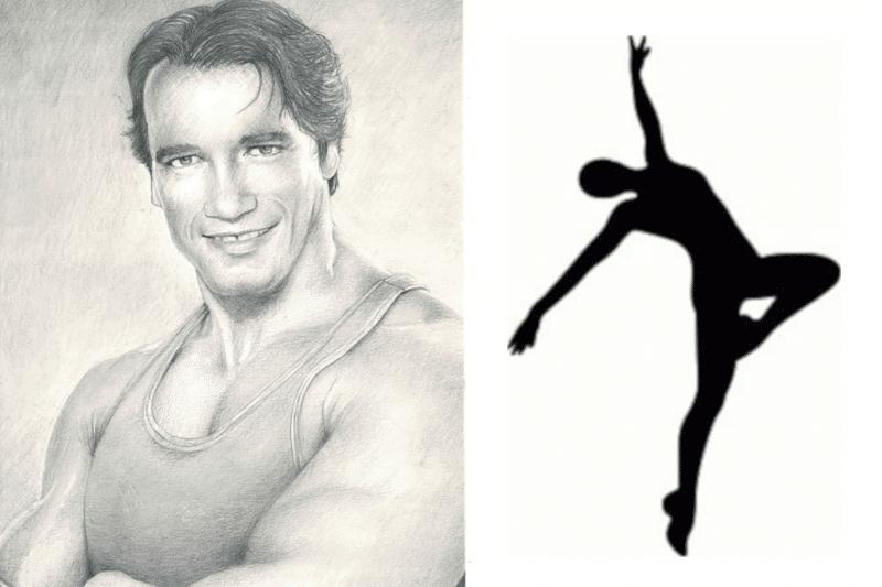 ¡Arnold Schwarzenegger bailando ballet!
