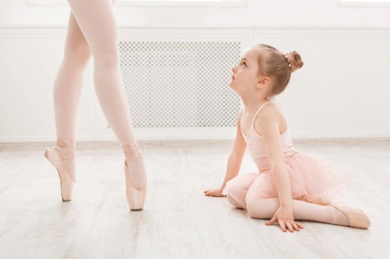 El movimiento de ballet RELEVÉ