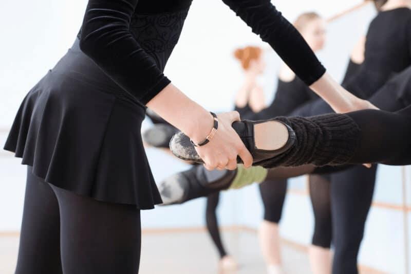 El movimiento de ballet ROND DE JAMBE
