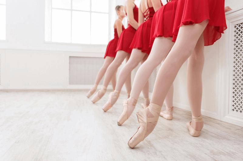 El movimiento de ballet TENDU