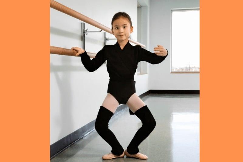 Ballet demi plié