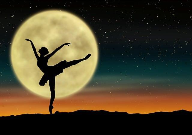 El movimiento de ballet ARABESQUE
