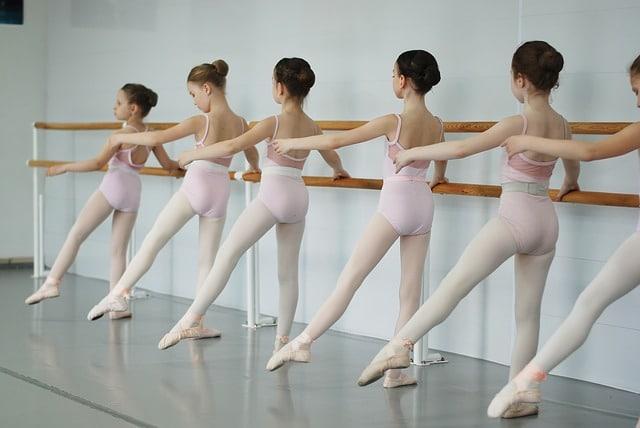 El movimiento de ballet FRAPPÉ