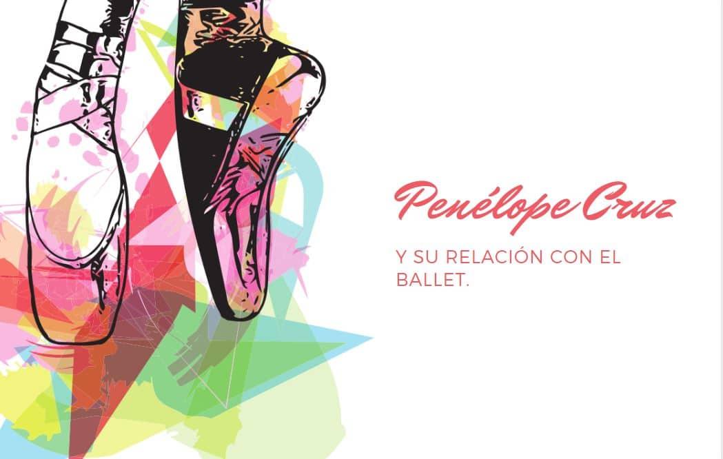 Penélope Cruz bailando ballet