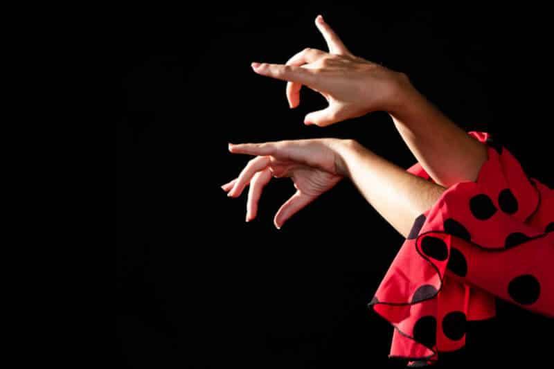 detalle manos flamenca