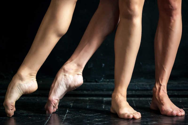 chasse ballet posición