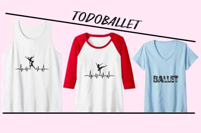 Ropa ballet camisetas