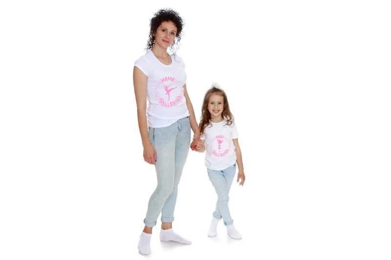 camisetas ballet madre hija