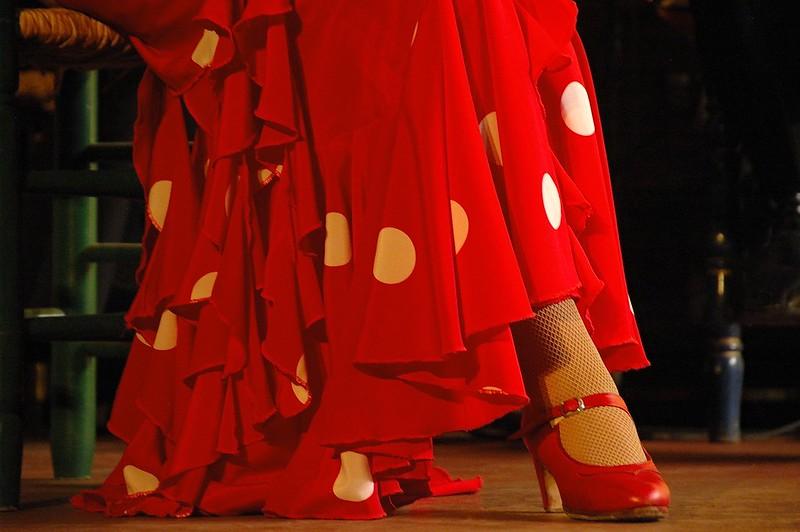 danza estilizada zapato